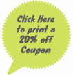 Click Hereto print a20% offCoupon